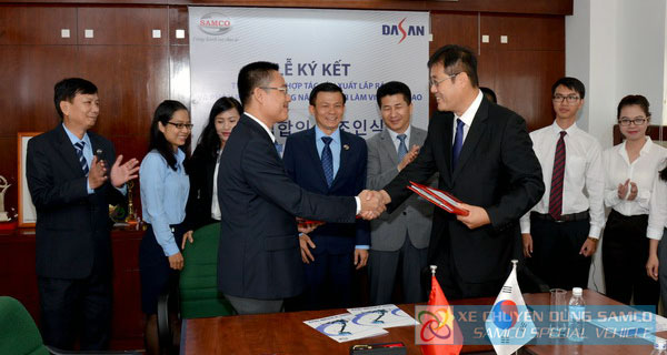Production cooperation between SAMCO and DASAN for special purpose trucks